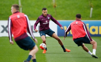 Football - England Training - St. George's Park - 7/10/15 England's Dele Alli during training Action Images via Reuters / John Sibley Livepic EDITORIAL USE ONLY.